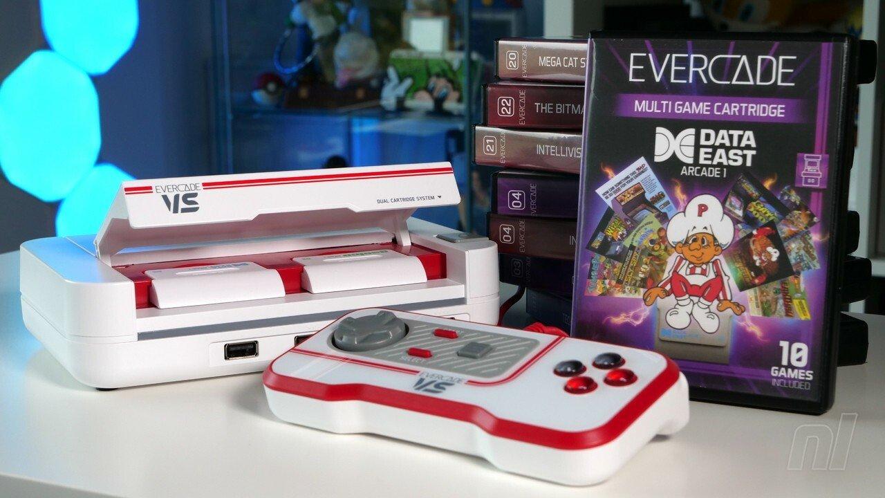 Examen du matériel: Evercade VS - Une passerelle à faible coût vers les classiques de Nintendo passés et bien plus encore