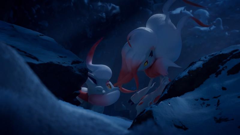 De nouvelles formes de Pokémon découvertes dans Pokémon Legends : Arceus