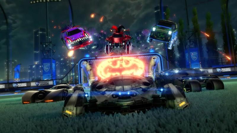 L'événement Haunted Hallows sur le thème de Batman commence demain dans Rocket League