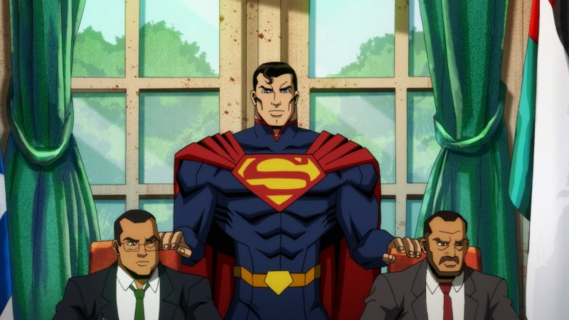 Regardez ce clip exclusif de Superman détruisant des choses dans l'injustice